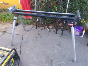 Ryobi 400lbs max MITER SAW STAND (A18MS01) for Sale in Stockton, CA