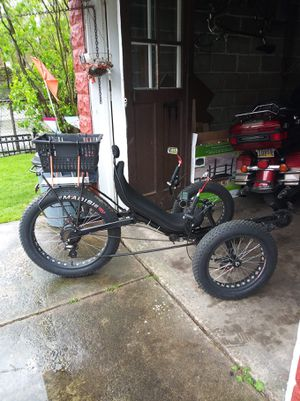 3 wheeled motorized/electric bike for Sale in Erie, PA