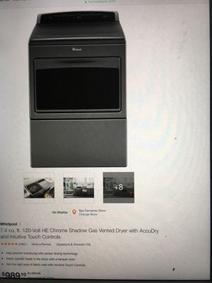 Brand new Whirlpool Dryer for Sale in Los Angeles, CA