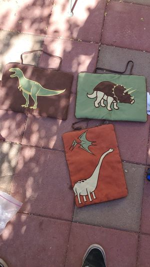 3 cloth dinosaurs wall display for Sale in Henderson, NV