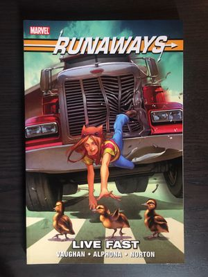 Runaways Vol.7 Live Fast Graphic Novel for Sale in Hyattsville, MD