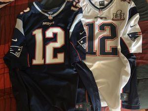 Nike patriots jerseys for Sale in Littlerock, CA