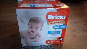 Huggies Size 2 Diapers for Sale in Glen Burnie, MD