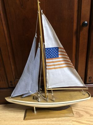 American flag collectible sailboat for Sale in Kennewick, WA