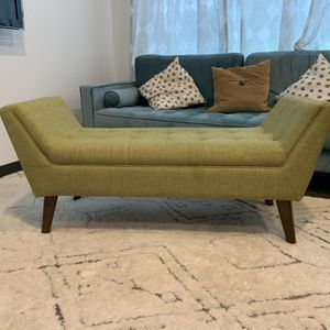 Upholstered Mid century Modern Bedroom Bench for Sale in Portland, OR