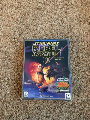 Star Wars - Rebel Assault 2 PC game - great quality for Sale in Portland, OR