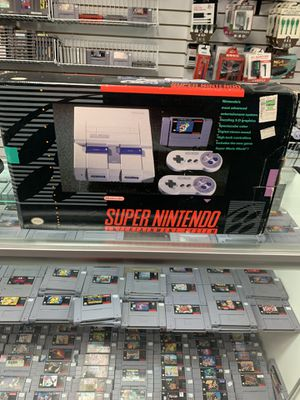 Super Nintendo Complete $175 Gamehogs 11am-7pm for Sale in Commerce, CA