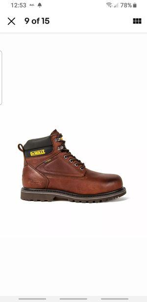 Dewalt Men's Axle Leather Slip Resistant Waterproof Steel Toe Work Boots Shoes size 13 for Sale in Irvine, CA