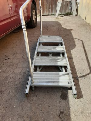 FOLDING DOCK STEPS FOR A BOAT SLIP O MOTTOR HOME for Sale in Huntington Beach, CA