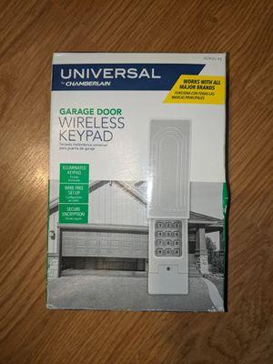 Universal Garage Door Opener Wireless Keypad for Sale in Pembroke Pines, FL
