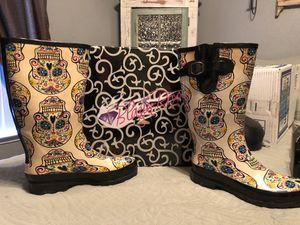 Sugar Skull Rain Boots for Sale in Fresno, CA