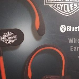Harley-Davidson Bluetooth Wireless Earbuds for Sale in San Antonio, TX