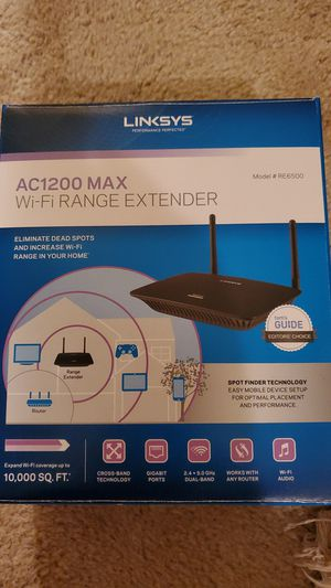 Linksys wifi range extender for Sale in Midland, TX