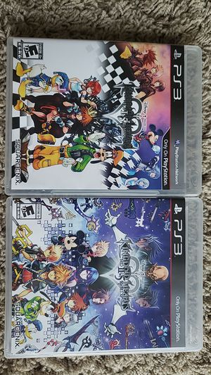 Kingdom Hearts 1.5+2.5 PS3 for Sale in Chicago, IL