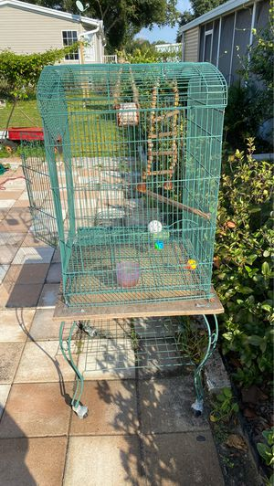 Bird Cages ( Large/Small for Sale in Tampa, FL