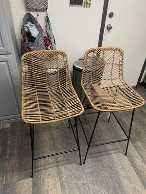 All weather in door out door stools for Sale in Vallejo, CA