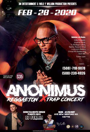Reggaeton x trap concert con Anonimus y DJ Fermin for Sale in Cranston, RI