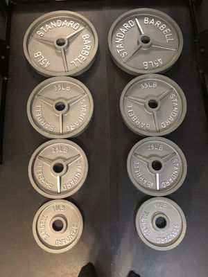 Weight Plate Set for Sale in La Quinta, CA