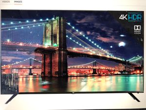 TCL 65R617 - 65 inch 4K ultra he ROKU Smart LED TV (2018 Modal) for Sale in Dulles, VA