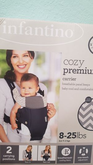 Infantino Cozy Premium Baby Carrier for Sale in San Leandro, CA