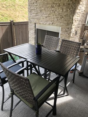 Allen + Roth Outdoor tables and chairs for Sale in Mill Creek, WA