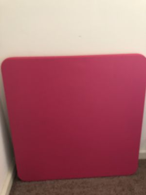 Pink kids table and chair for Sale in Simsbury, CT