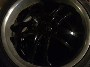 22 inch rims and tires for Sale in Obetz, OH