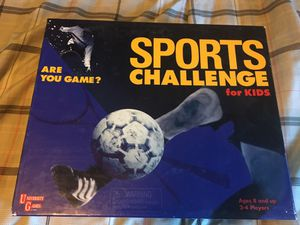 Sports Challenge Board Game for Sale in Highlands Ranch, CO