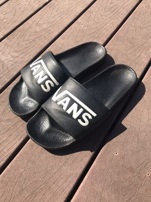 Vans slides size 12 for Sale in San Mateo, CA