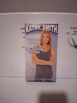 Kathy Smith's Wellness Mind and Body VHS for Sale in Steubenville, OH