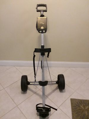 Fairway Gear , 2 wheel folding golf bag cart for Sale in Coral Springs, FL