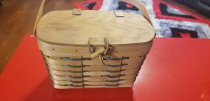 Vitage handmade Longaberger collection basket for Sale in Riverview, FL