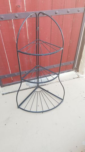 3 Tier Foldable Corner Plant Stand for Sale in Yuma, AZ