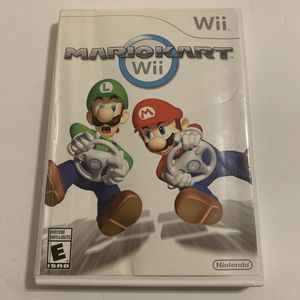 Mario Kart Nintendo Wii - 2012 Video Game Tested & Working - Super Mario Bros for Sale in Katy, TX
