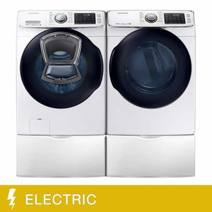 Samsung 4.5CuFt Front Load Washer and 7.5CuFt Electric Dryer with Multi-Steam TechnologySamsung 4.5CuFt Front Load Washer and 7.5CuFt Electric Dryer w for Sale in Honolulu, HI