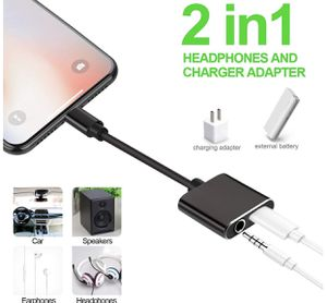 iPhone Headphone Adapter & Splitter, 2 in 1 Lightning to 3.5mm Headphone Audio & Charger Compatible for iPhone 11/XS/XR/X 8 7/iPad/iPod, Support Call for Sale in Carson, CA