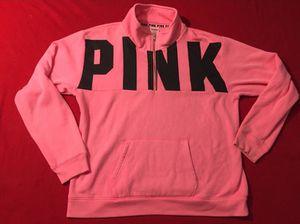 PINK Victoria's Secret quarter zip sweatshirt M for Sale in Benicia, CA