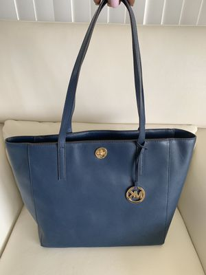 Michael Kors Voyager Lg MF TZ Tote In Admiral Blue for Sale in Miami, FL