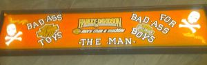 Handcrafted harley davidson motorcycle sign for Sale in St. Louis, MO