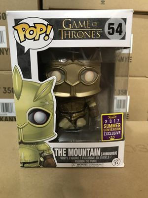 Game of Thrones The Mountain funko pop 54 for Sale in Lincoln, NE