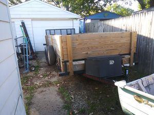 7x18' utility trailer for Sale in Ypsilanti, MI