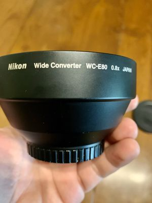 Lense Nikon wide converter WC-E80, like new for Sale in Boca Raton, FL