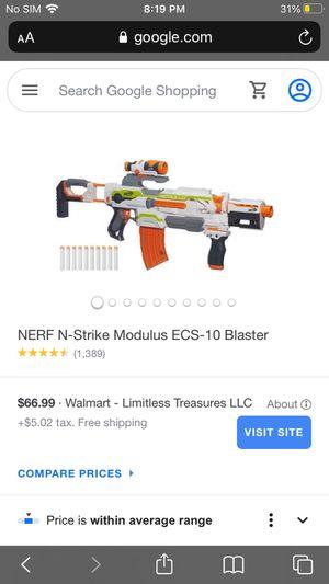 Nerf Gun Modulus Semi Automatic for Sale in Hilliard, OH