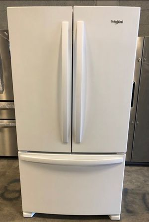 Whirlpool 25.2 cu. ft. French Door Refrigerator take home with 1 year warranty for only $40 down EZ financing for Sale in Miami, FL