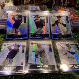 Panini Unparalleled Cavan Biggio Rookie Baseball Cards Austin Riley Braves Aaron Judge Yankees for Sale in Emmaus, PA