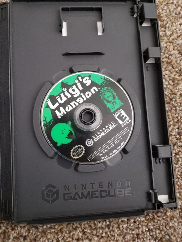 Luigi mansion for game cube