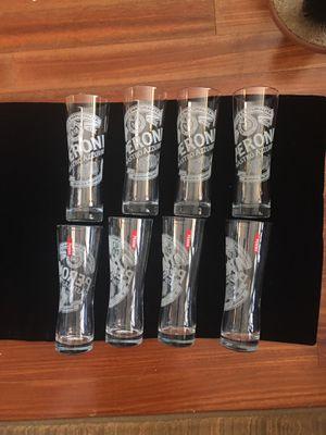 8 Peroni Pint Beer Glasses for Sale in Alexandria, VA