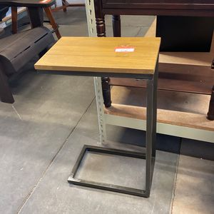 Aggie Powder Coated Tray Side Table for Sale in Phoenix, AZ