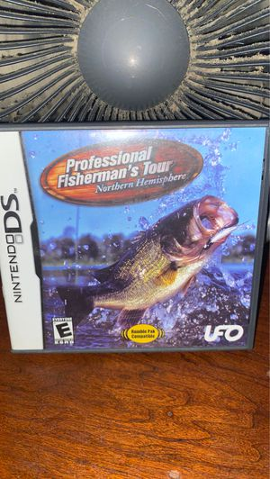 Nintendo ds professional fisherman's tour for Sale in Overland, MO