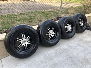 "4 > 17"" GFX Off-Road wheels & 285-70-17 tires 5 LUG Dodge 5x5.5 (5x139.7) READ DESCRIPTION ! for Sale in Nashville, TN"